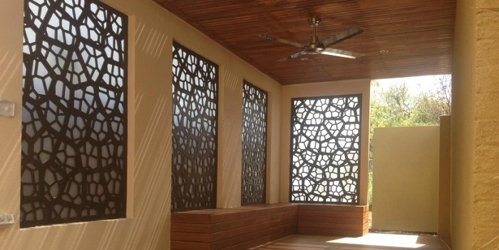 exterior privacy screens. this multi-functional landscaping product is the perfect solution for interior and exterior privacy screens, decorative patio/garden shade screens